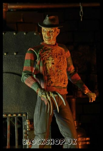 "NECA-Nightmare on Elm Street 7/"" Freddy Krueger Horror-ACTION FIGURES Toy"