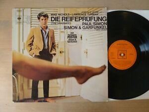 Die-Reifepruefung-The-Graduate-Simon-amp-Garfunkel-GER-LP-Vinyl-vg