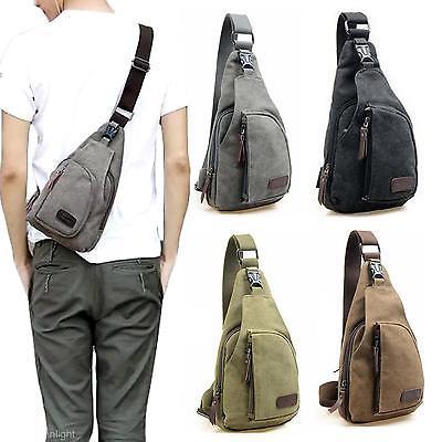 Herren Schultertasche Umhängetasche Tasche Brusttasche Mode 4 Farben wählen