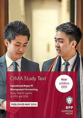 CIMA P1 Management Accounting: Study Text by BPP Learning Media (Paperback,...