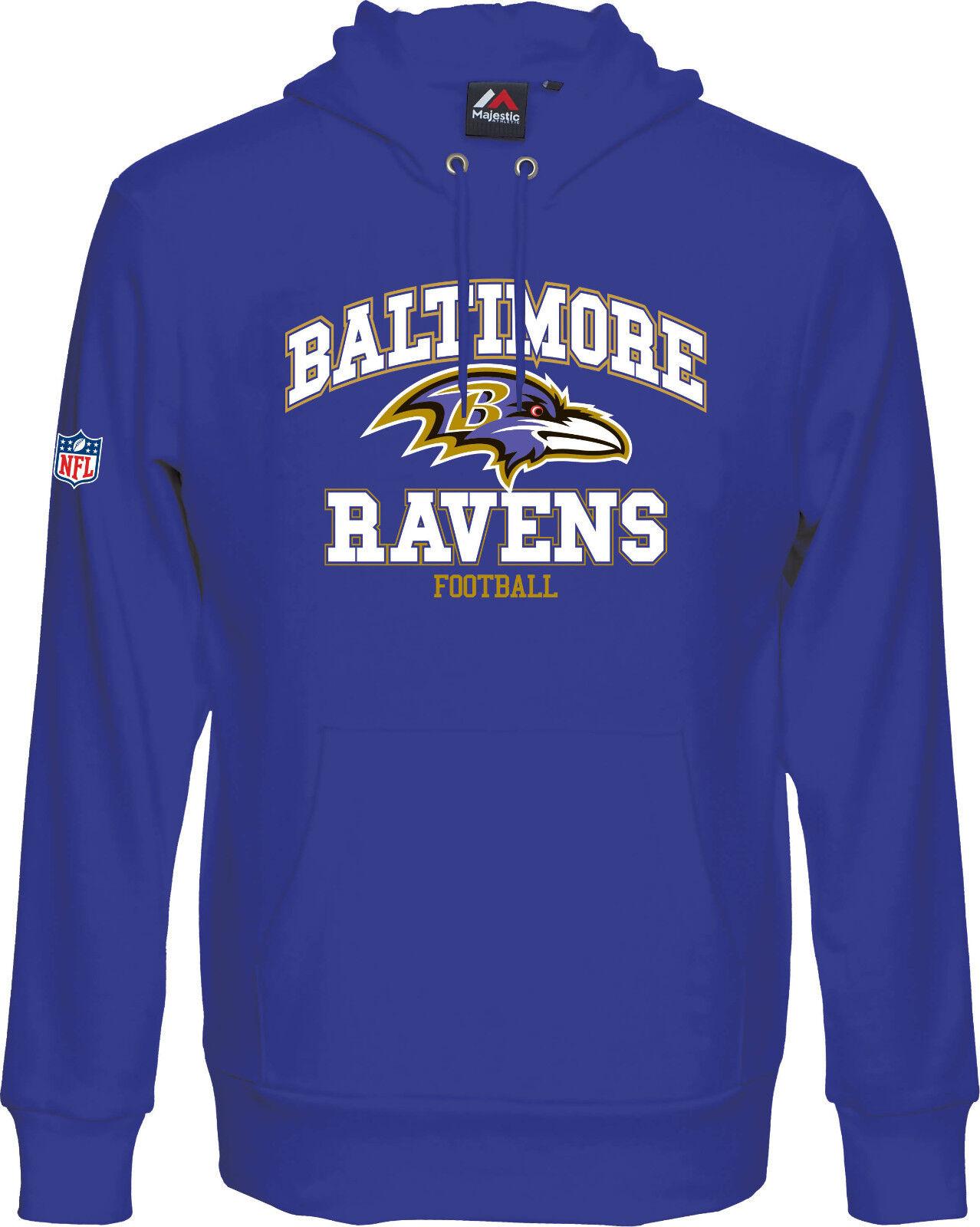 NFL FOOTBALL Baltimore Ravens Hoody Hoodie Hoodie Hoody kaputzenpullover Treser SWEATER 270e12