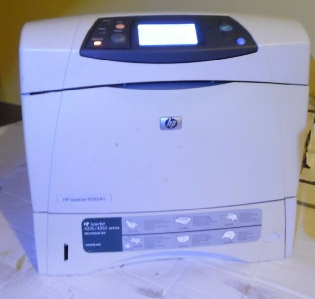 HP LaserJet 4250 4250dtn Laser Printer ** | eBay