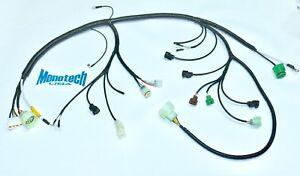 88-91 honda civic & crx dx/lx dual point fuel injection new! engine wire  harness | ebay  ebay