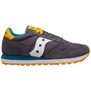 Saucony sneakers men jazz original 2044560 logo detail suede shoes trainers