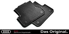 Original Audi A3 Gummifußmatten 8P10615 Allwettermatten Gummimatten vorne 8P