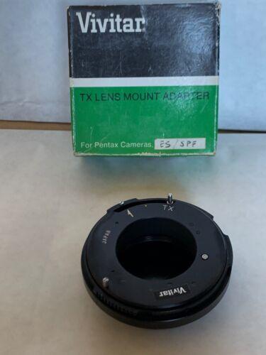 M42 Vivitar TX Adaptador De Montaje Para Pentax P//es