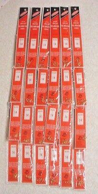 24 pks 6 per pack JORGENSEN  857-4 Snelled Baitholder Hooks Size 4