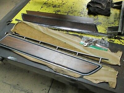 1970-1977 Corvette C3 Door Panel Carpet Strips Saddle Pair