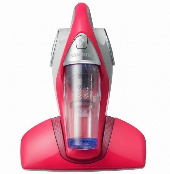 Samsung VH60F40DYARS Mattress Bed Cleaner portable vacuum Red