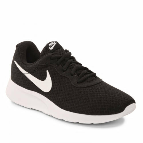 Nike Tanjun Black White Mesh Men's shoes Size 8 To 12 New In Box