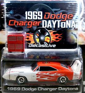 1969 Dodge Charger Daytona Race Car 1 64 S Scale Mint Ebay