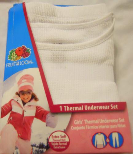 Fruit of the Loom Thermal Underwear Set Kids