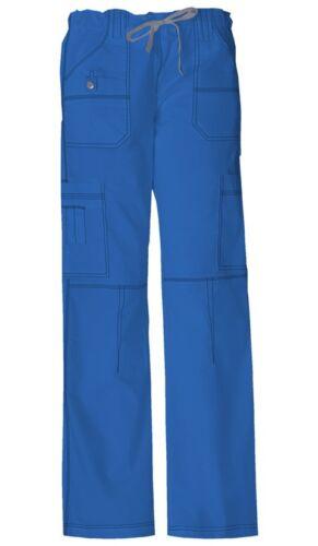 Dickies Scrubs Drawstring Cargo Scrub Pant 857455 ROYAL BLUE Dickies GenFlex