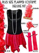 roaring 20u0027s plus size flapper dress halloween costume xl to 9x