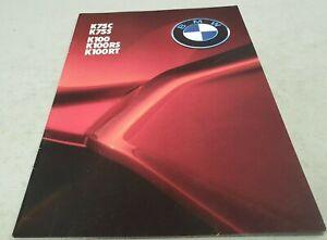 1985-BMW-Motorcycle-Original-Sales-Brochure-K75C-K75S-K100-K100RS-K100RT