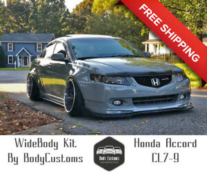 Details About Honda Accord Cl7 9 Modulo Acura Tsx Wide Body Kit Fender Flares