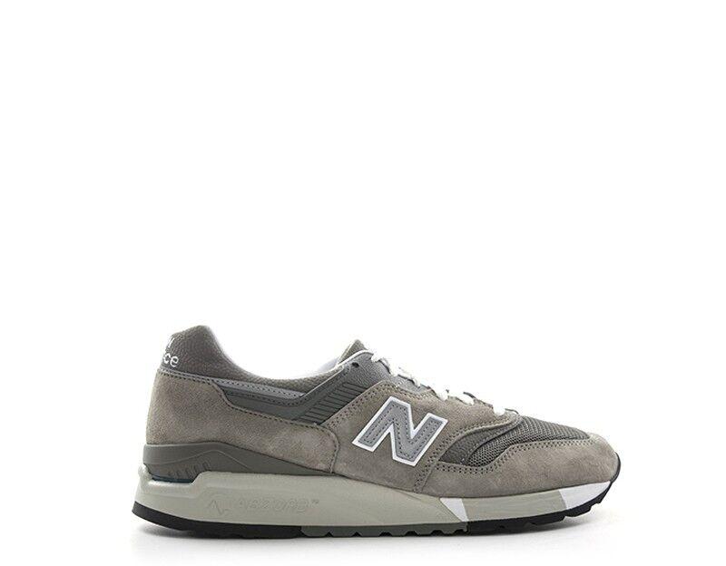 Schuhe NEW BALANCE Mann grau Stoff,Wildleder  M9975GR