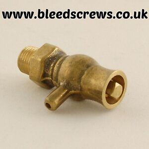 Cast-Iron-Radiator-Traditional-Bleed-Valve-Screw-Vent-Air-1-8-034-Brass