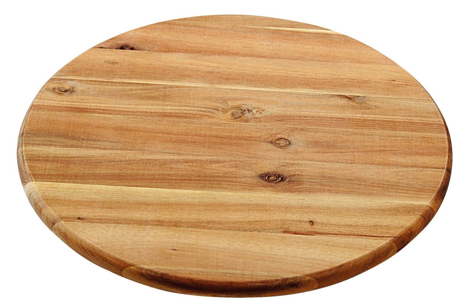 Kesper Drehplatte Servierplatte ø 40 cm   Stärke  1,5 cm Akatienkolz    28448 | Kaufen Sie beruhigt und glücklich spielen