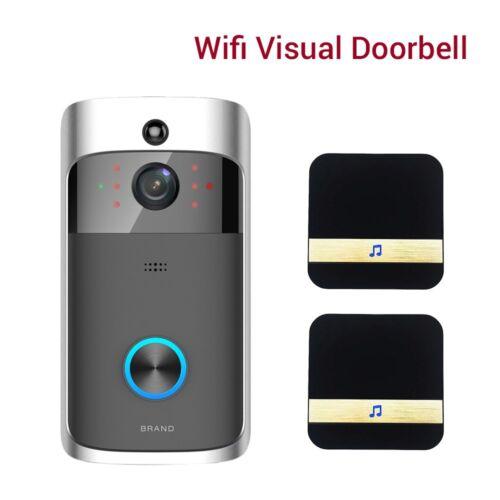 2pcs Dingdong 2 Way Audio Camera Remote Phone APP WiFi Wireless Visual Doorbell