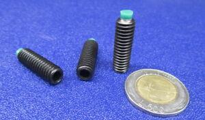 "10 Pieces 8-32 x 5//8/"" Length Nylon Tip 18-8 Stainless Steel Set Screws"