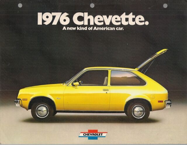 chevrolet chevette 1976 usa market sales brochure scooter sport rally woody for sale online ebay chevrolet chevette 1976 usa market sales brochure scooter sport rally woody