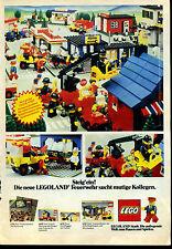 Lego-- Legoland-Feuerwehr-sucht mutige Kollegen-Steig ein!--Werbung von 1980--
