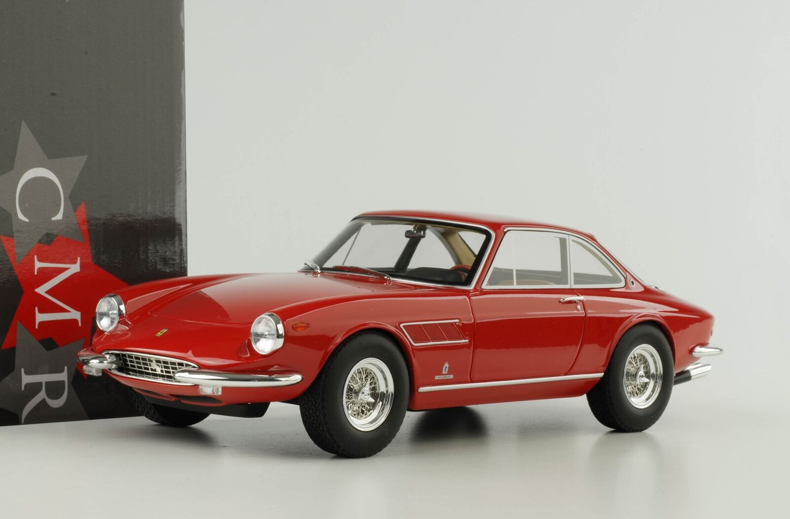 Ferrari 330 GTC 1966 1968 rosso 1 18 CMR resin