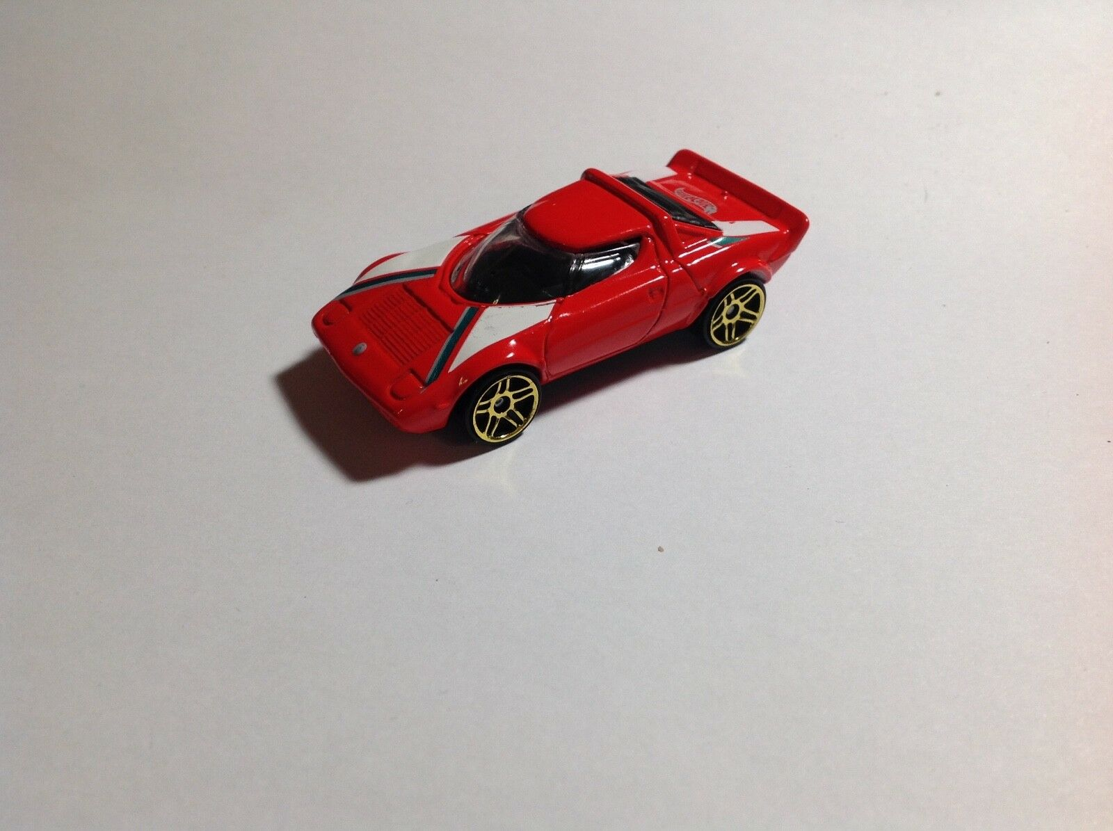 HOT WHEELS rosso rosso rosso LANCIA STRATOS oro  VHTF 1/64 DIECAST - NM - Free Ship ccca31