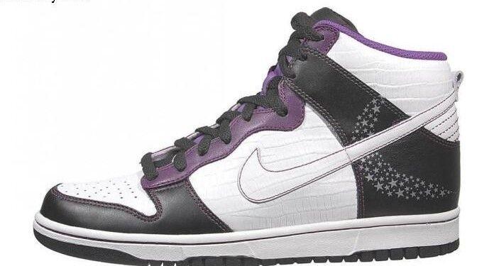 Nike Dunk High Premium  Croc Stars  Black   White-quasar Purple 312786011 S 11.5