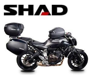 stili di grande varietà personalizzate vende Dettagli su Supporto Borse Laterali Shad Yamaha 3P Sistema MT-07 Bagagli  2014 New Accessori