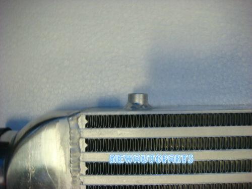 """24/""""x12/""""x3/"""" FMIC Aluminum Intercooler Universal 600 x 300 x 76mm 3/"""" Inlet//Outlet"""