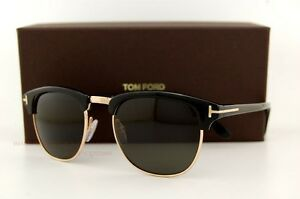 black and gold clubmasters  Brand New Tom Ford Sunglasses CLUBMASTER FT 248 HENRY Color 05N ...