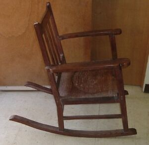 Admirable Details About Antique Ohia Wood Rocking Chair Hawaiian Furniture Machost Co Dining Chair Design Ideas Machostcouk
