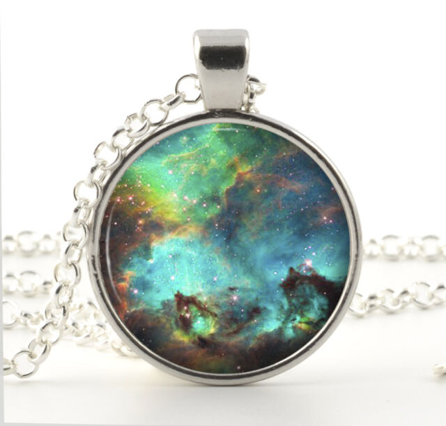Nebula Necklace - Galaxy Jewelry - Gifts for Her - Hubble Space Universe Charm