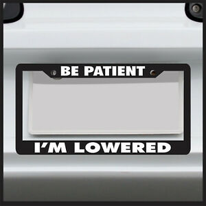 illest License Plate Frame Lowered jdm funny low slow