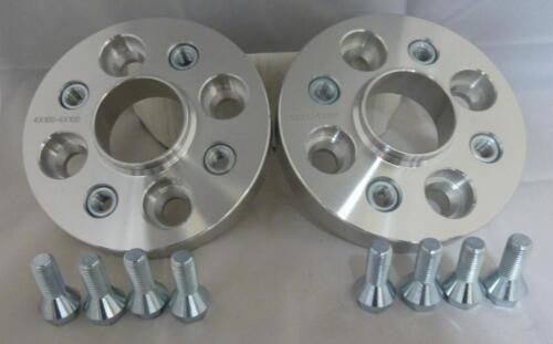 DACIA DOKKER 20 mm in lega Hubcentric Wheel Distanziatori 4x100 PCD 60.1CB