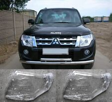 MITSUBISHI Pajero V93 V97  Left and Right Front Kit Glass Headlights