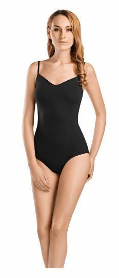 Womens Bodysuit with Jewelled Neckline Black 10-12