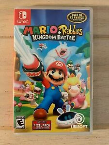 Mario + Rabbids Kingdom Battle (Nintendo Switch, 2017) *Comes in Box*