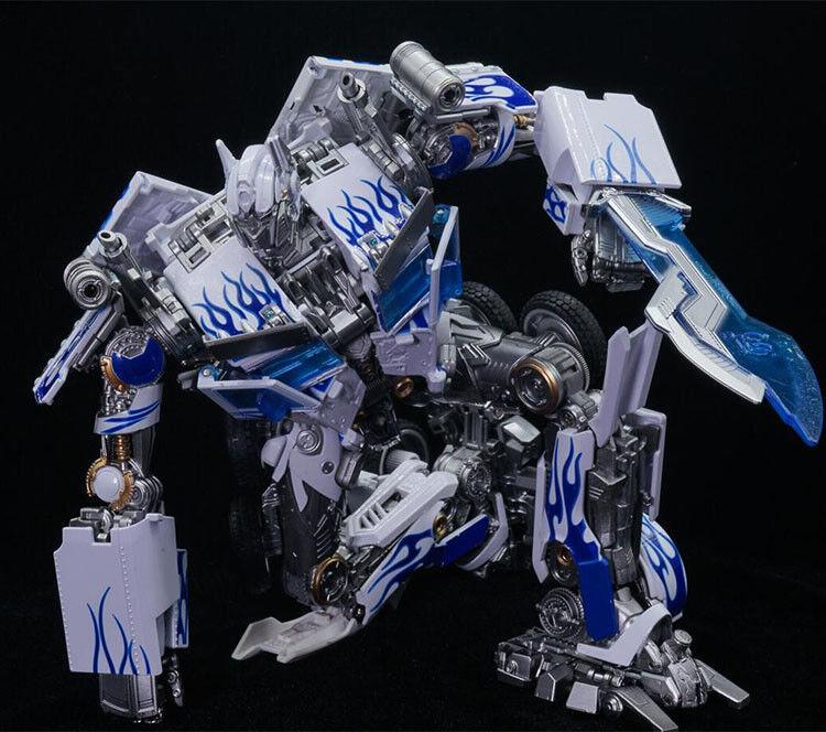 Legendary giocattoli LT02W MPM04 Optimus Prime blu & bianca Porcelain Ver.