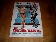 Kinoplakat:  Der Keuschheitsgürtel EA  TONY CURTIS+MONICA VITTI