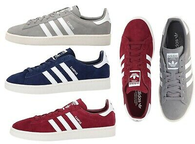 adidas Originals Men's 3 Stripes Campus Shoes Classic Retro Fashion Sneakers | eBay