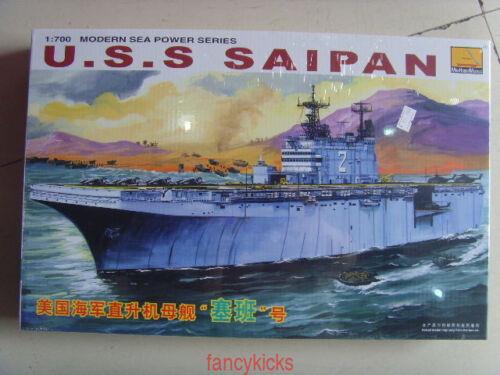 MiniHobby1//700 80802 U.S.S.Saipan Assembly model
