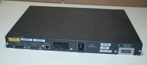 Cisco WS-C3750G-24T-S 24-Port Gigabit Ethernet Switch Rackmount