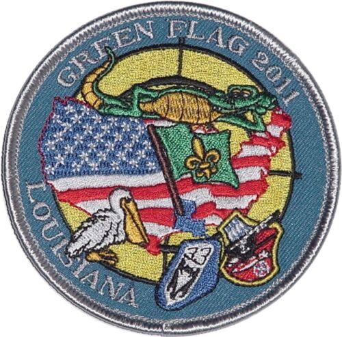 Luftwaffe Aufnäher Patch GREEN FLAG 2011 JaBoG 32 JaBoG 33 ...........A2214K