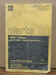OEM Caterpillar CAT D6D Dozer Tractor Direct Drive Parts