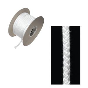 Stovax 12 mm Suave Cuerda Blanca Sello Para Estufa Quemador de registro Woodburner puerta por Metro