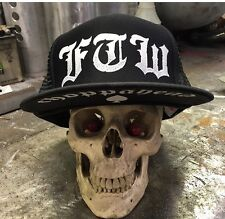 Choppahead FTW Trucker hat with under brim logo - chopper, bobber, kustom