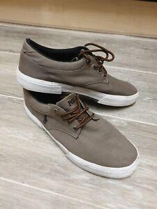 Ralph Lauren Polo Mens Canvas Shoes